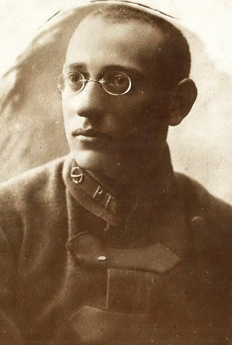 1920. Л.Д. Дымшиц. Военком 13 полка ВЧК