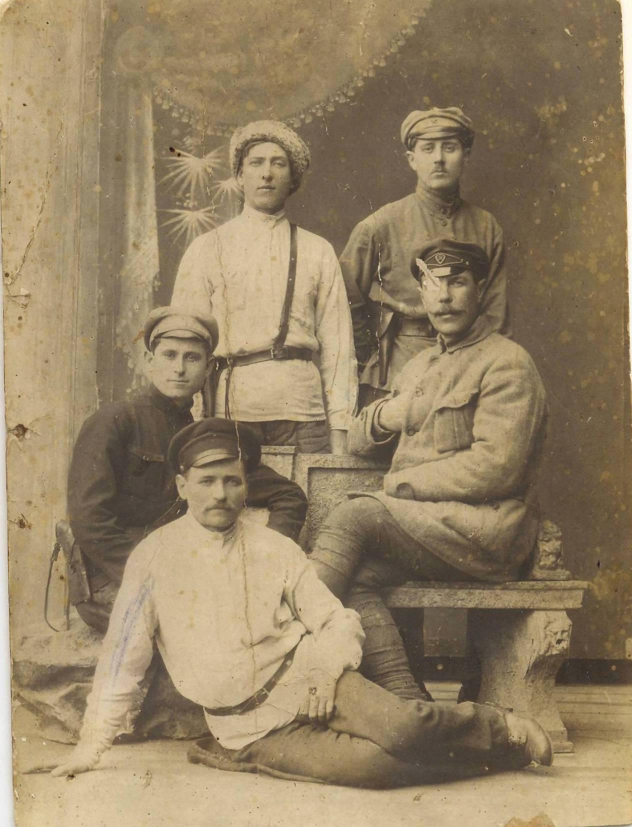 1922. Милиция г. Алешки