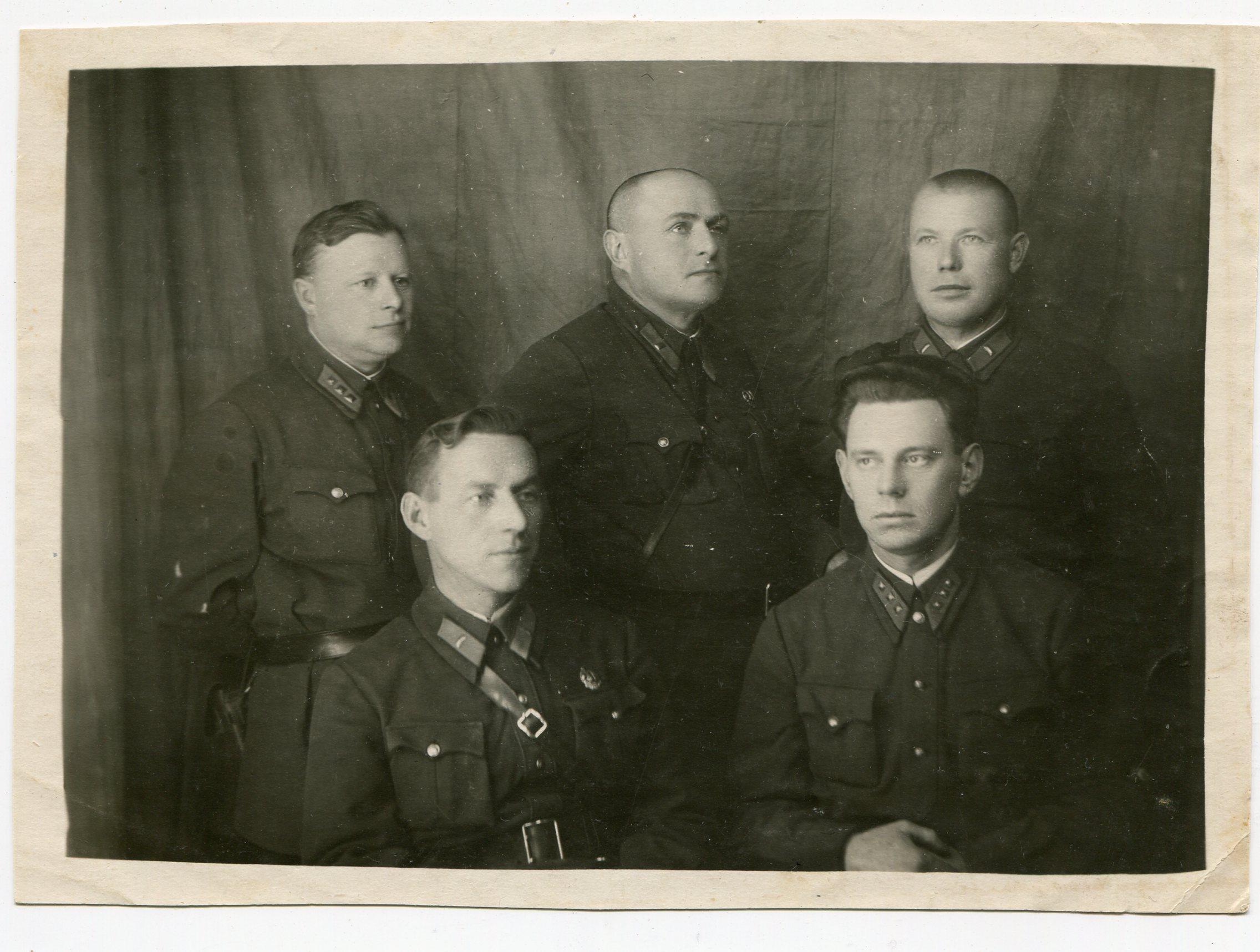1930-е. Руководители УГРО г. Орел