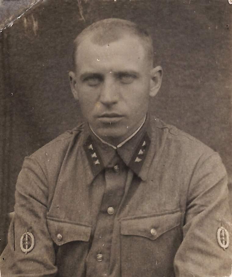 Старший лейтенант особого отдела НКВД