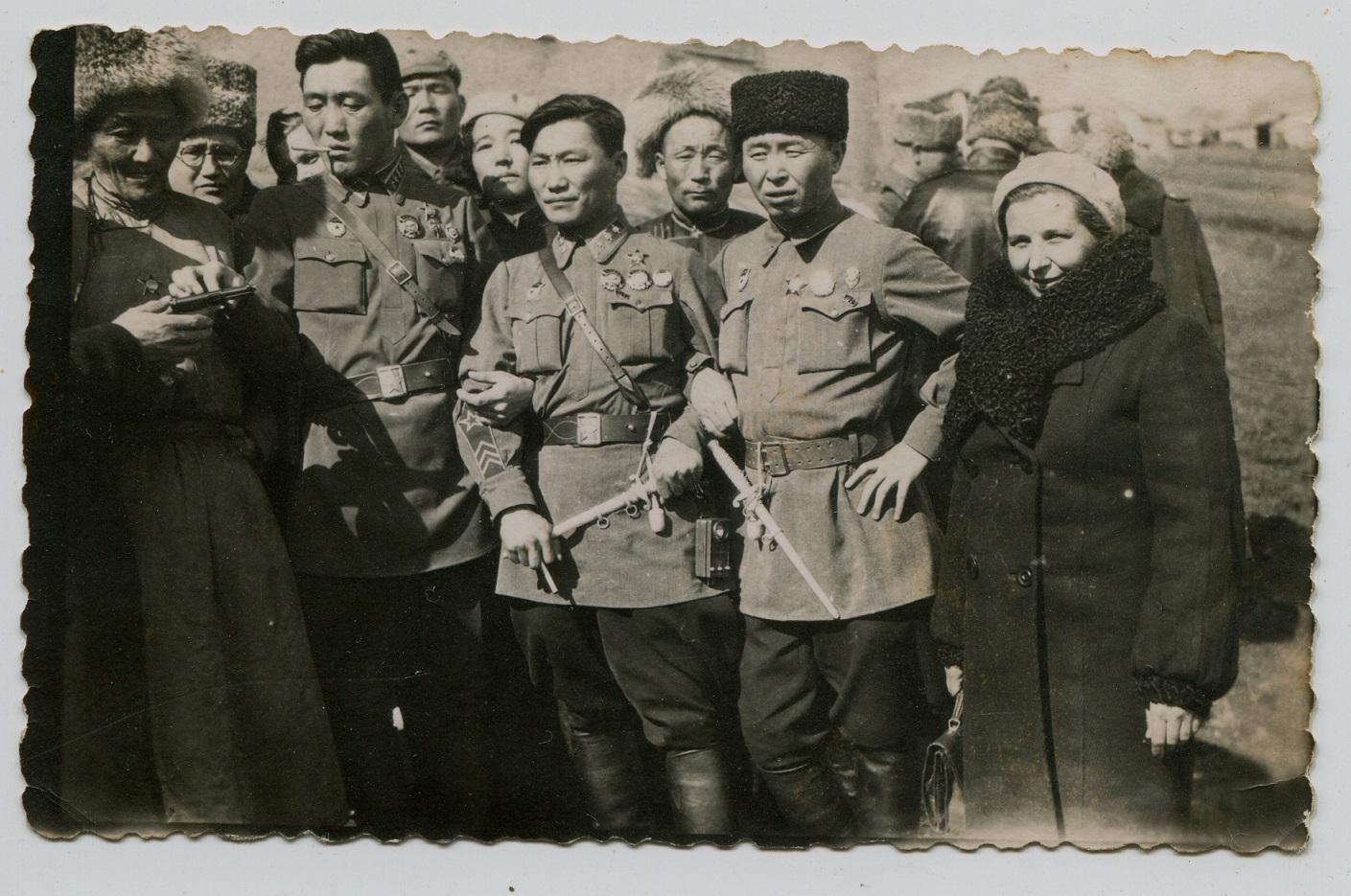 Монгольские чекисты