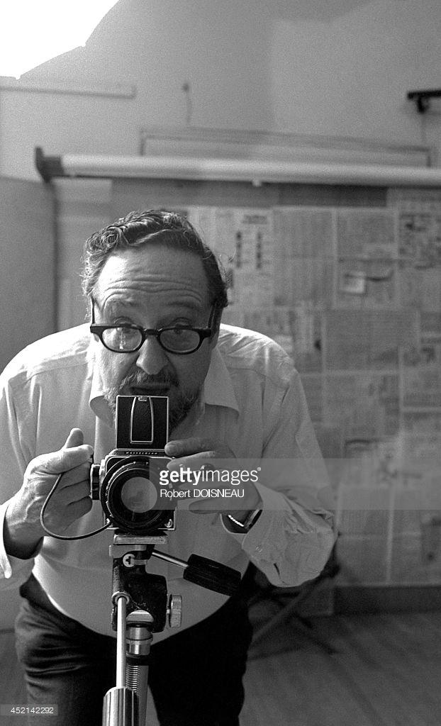 1981. Арнольд Ньюман во время фотосессии 26 апреля в Нью-Йорке.