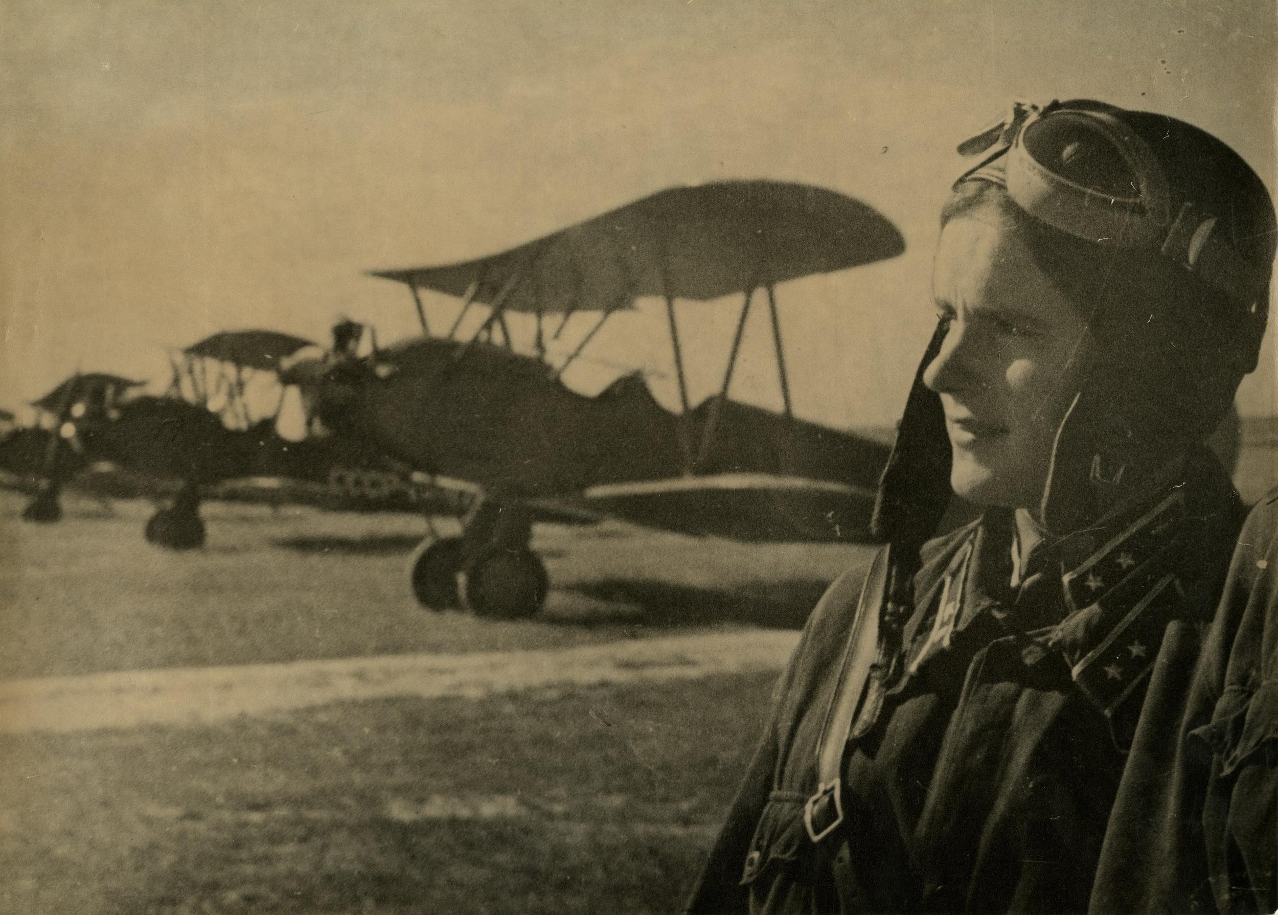 1940-е. Грачёв М.П. «Лётчица»