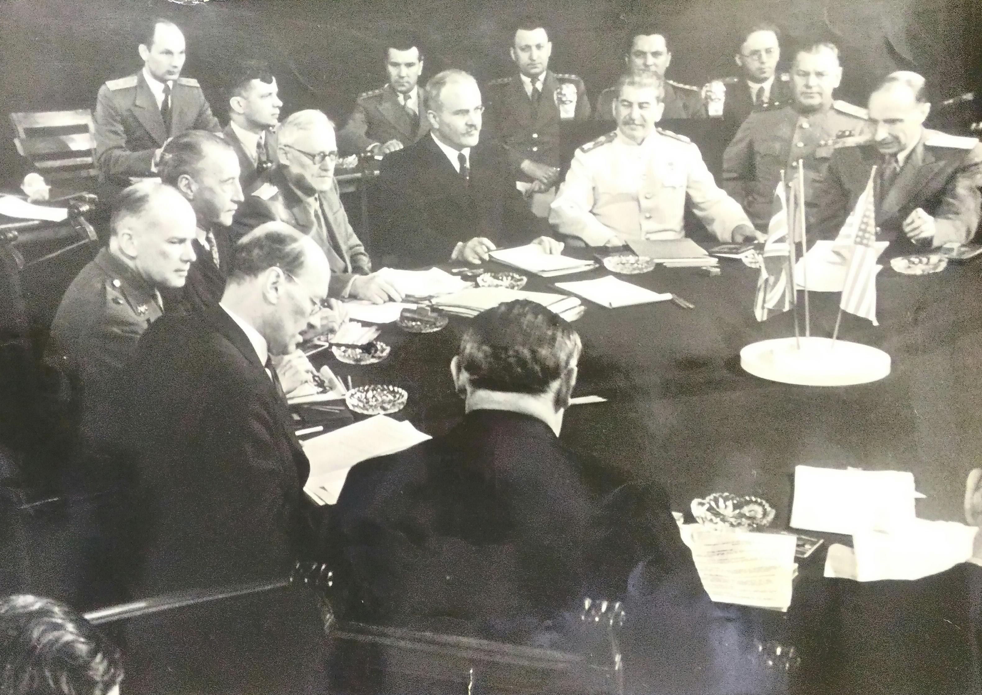 1945. Халдей Е.А. «Потсдамская конференция»