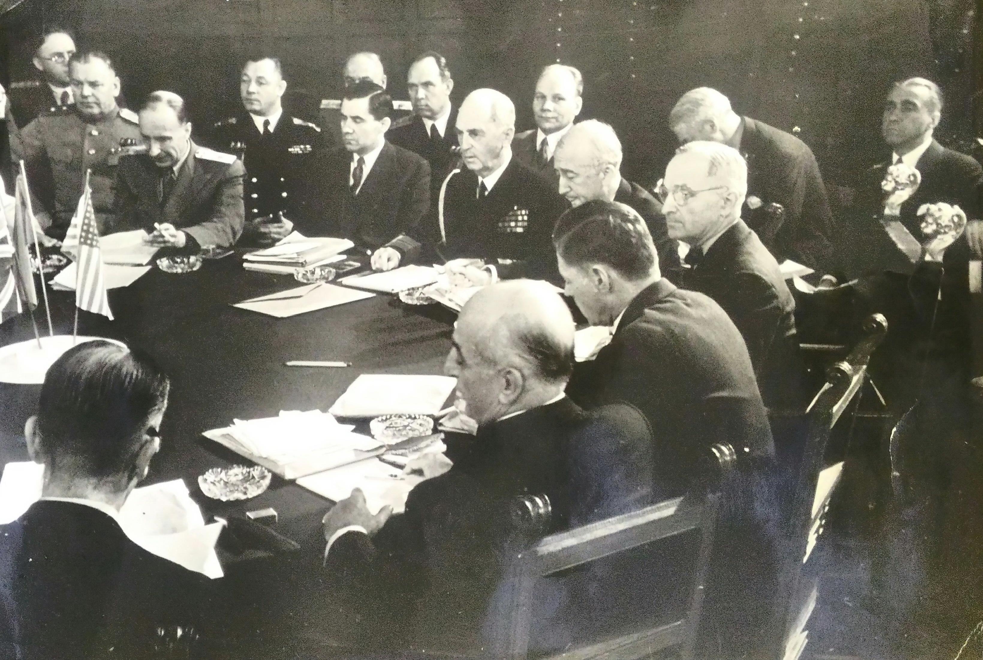 1945. Халдей Е.А. «Потсдамская конференция»1