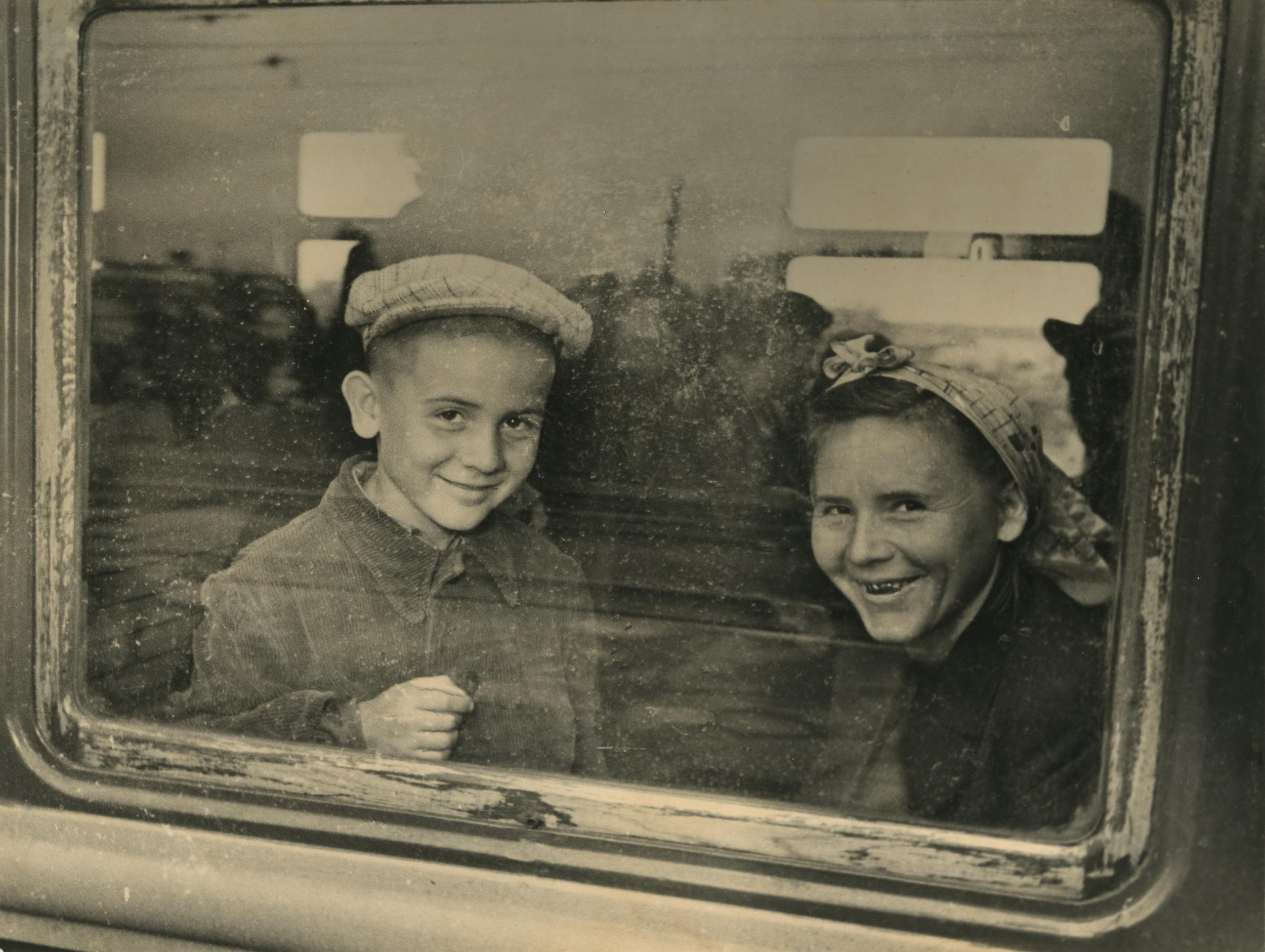 1950-е. Грачёв М.П. «В поезде»
