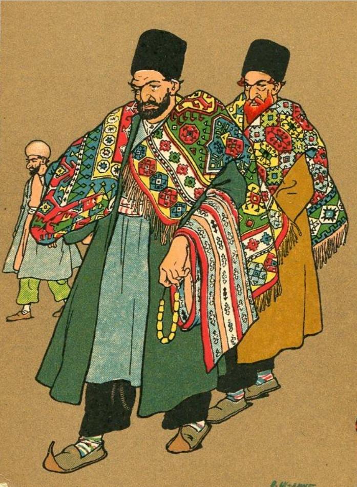 Персияне - продавцы ковров