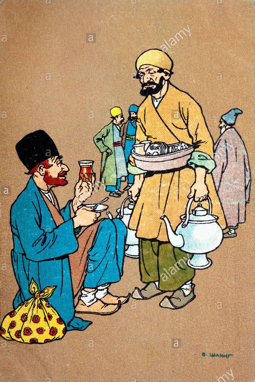 Пить чай в Старом Тифлисе