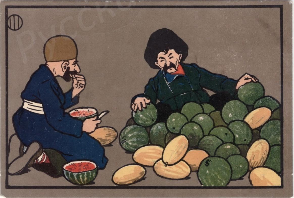 Продавец арбузов