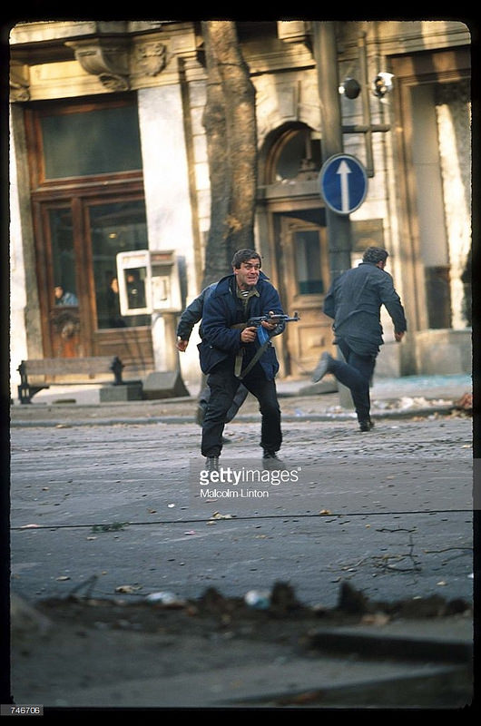 1991. 25 декабря. Тбилиси. Уличные бои