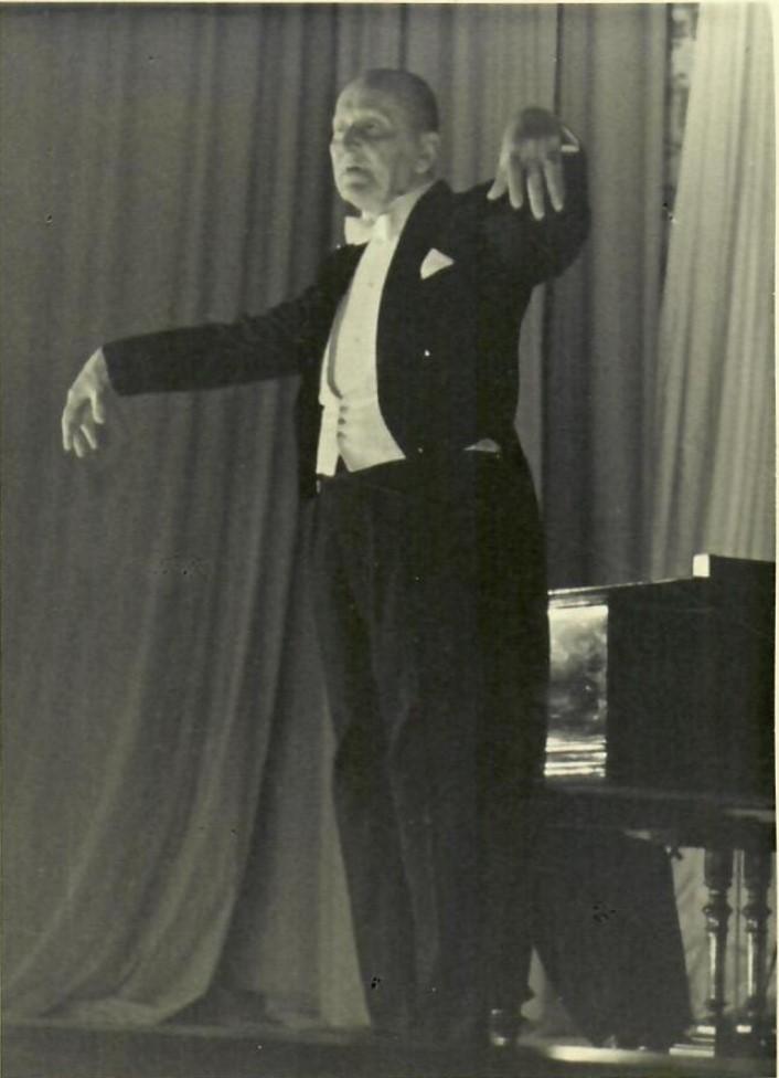 1950-е. Александр  Николаевич  Вертинский