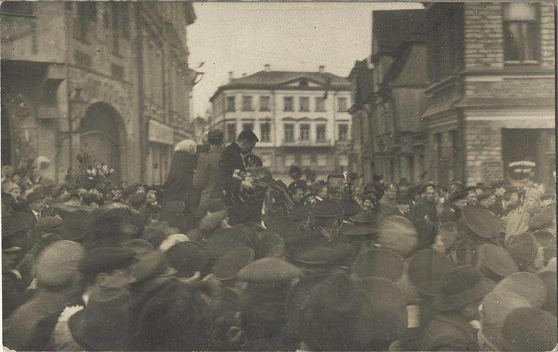1917. Александр Керенский в Ревеле