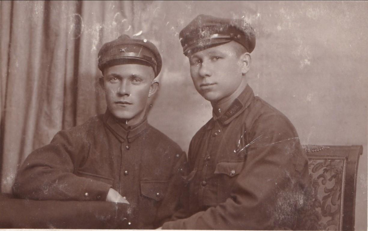 1931. Бойцы 3-го ОДОН..Москва