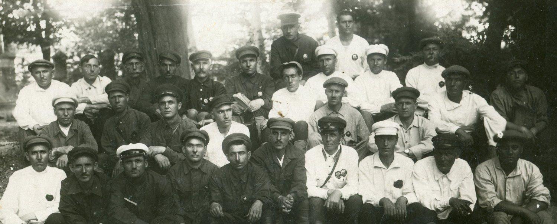 1932. Командный состав 1-го Ташкентского Красногвардейского полка