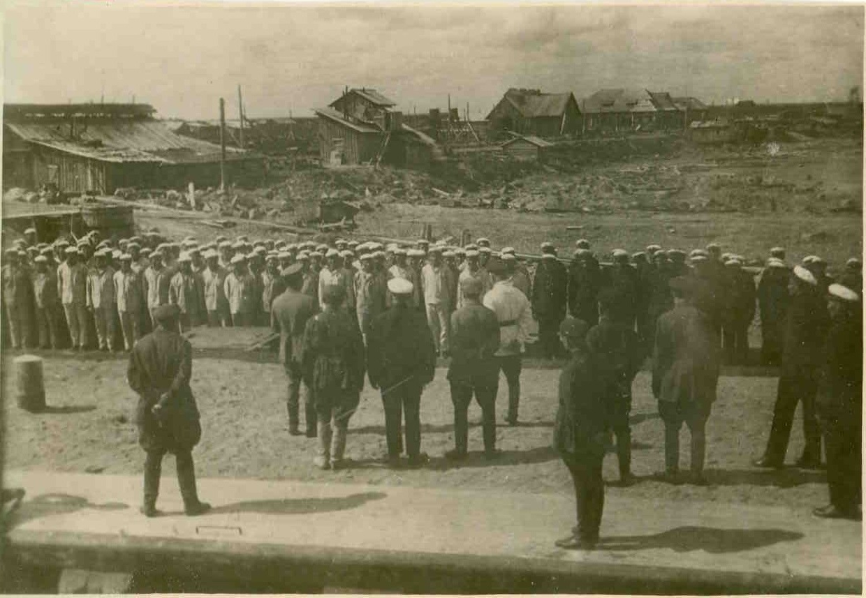 1933. Сталин, Киров и Ворошилов в Мурманском погранотряде