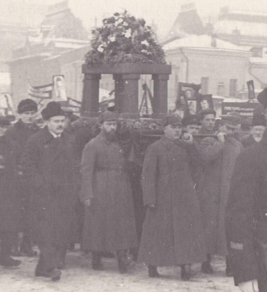 1934. Похороны С.М.Кирова. Москва