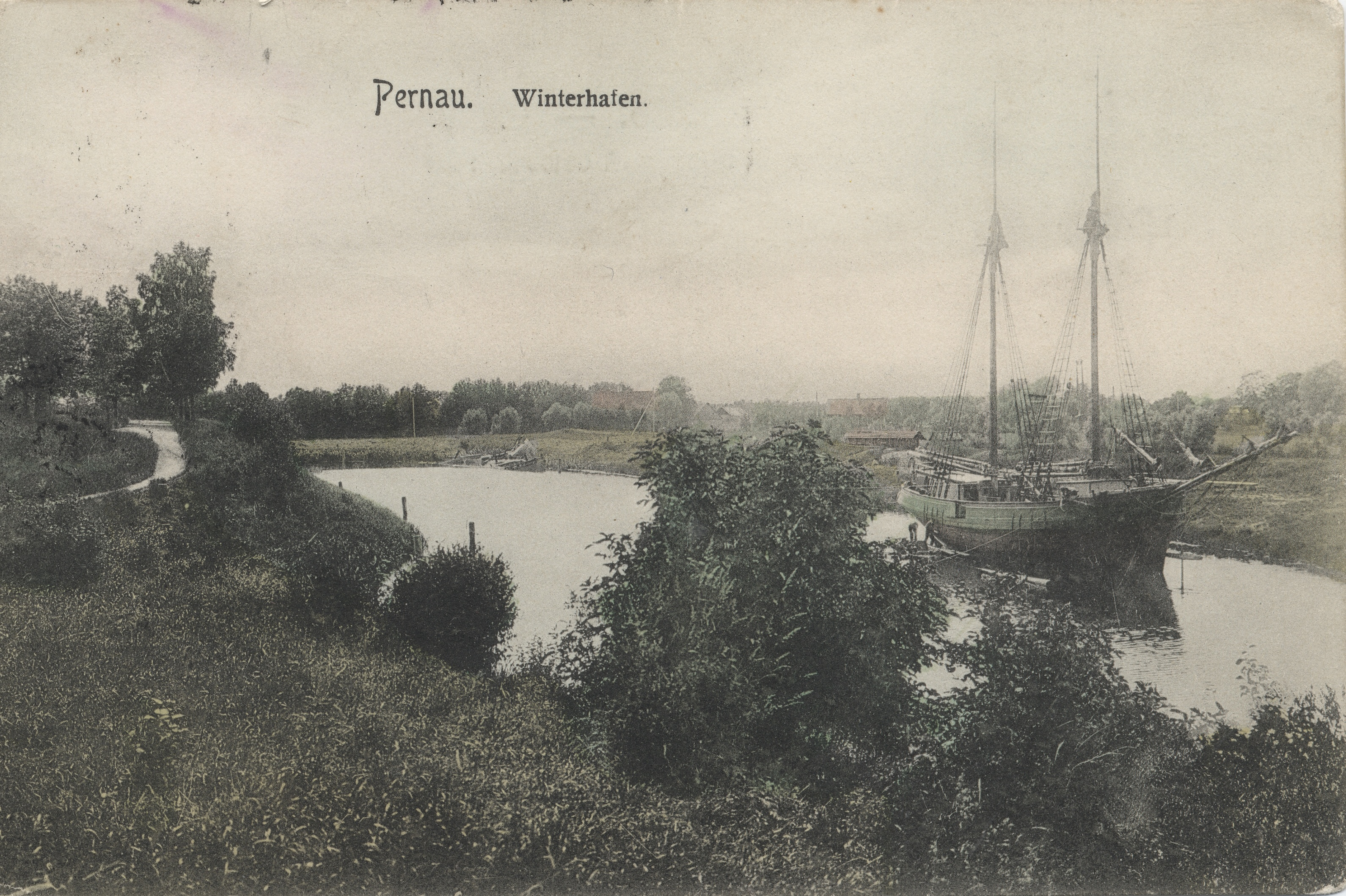 Зимняя гавань