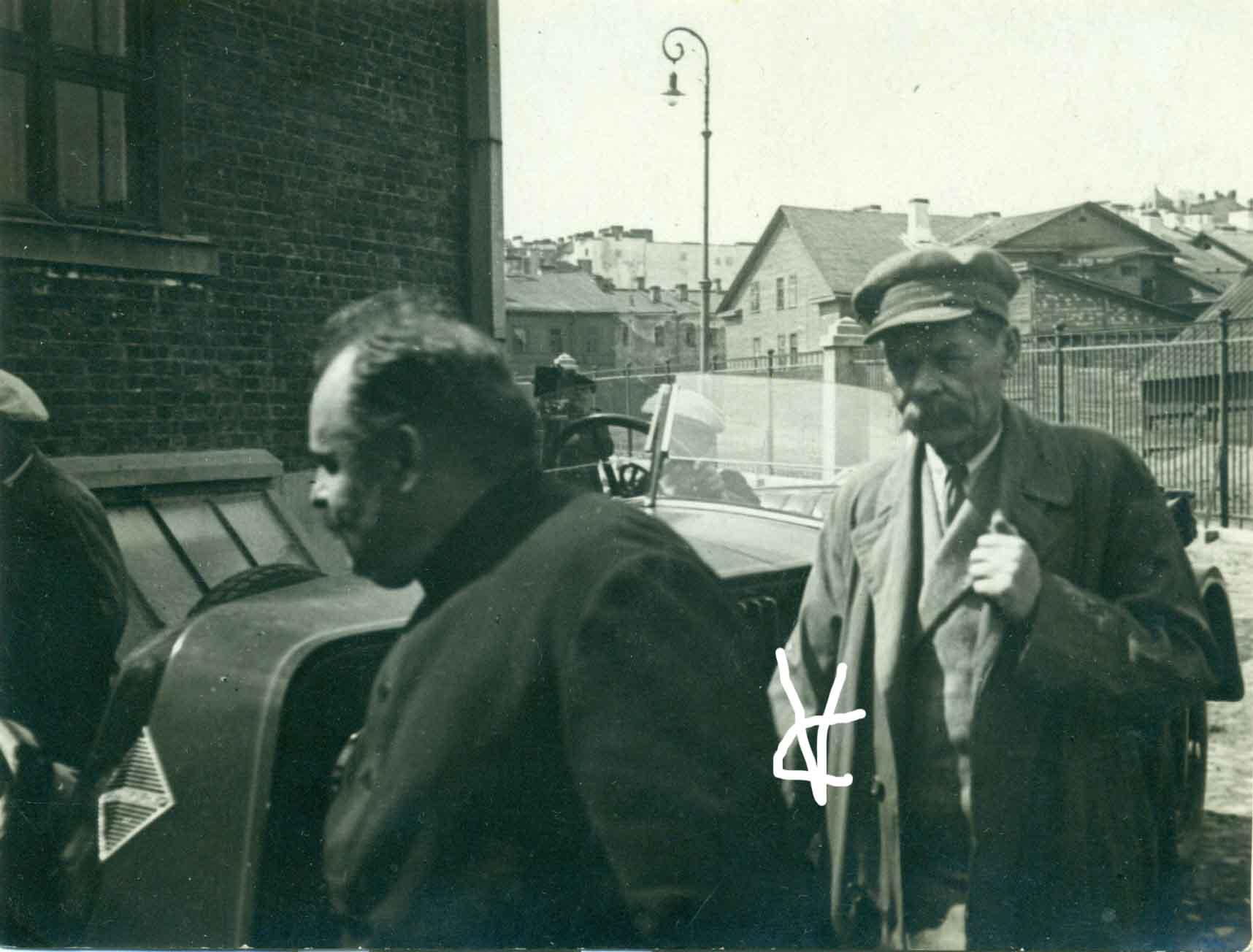 1928. А.М.Горький в Казани1