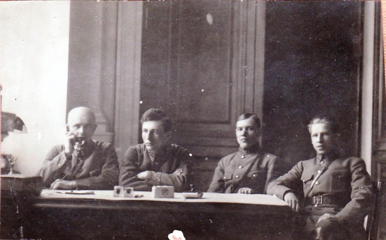 1928. Сотрудники комендатуры Кремля. Москва