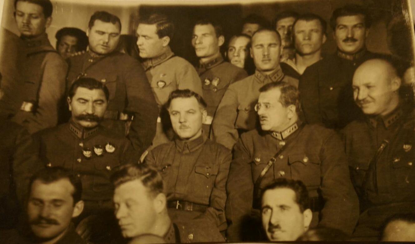 1930-е.  Буденный, Ворошилов, Уншлихт