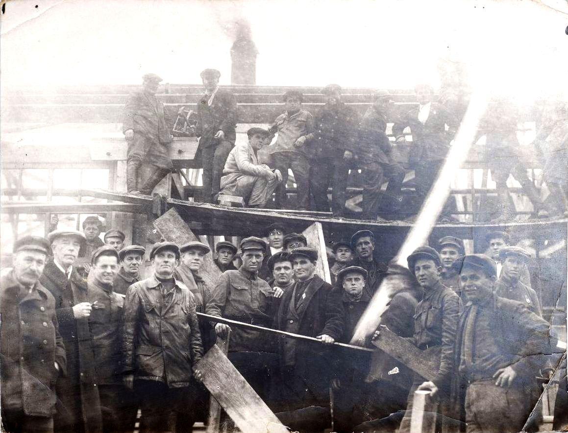 1930-е. Строители Беломорканала