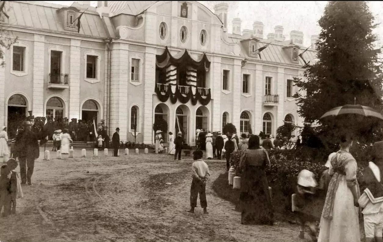 Открытие нового курзала. 1912