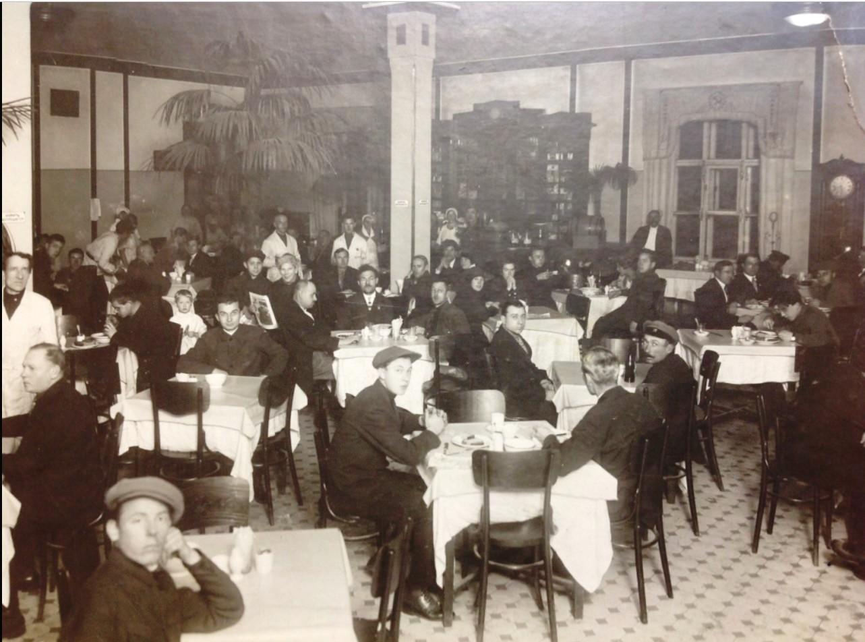 1925. Столовая Фабрики-Кухни в Иваново-Вознесенске