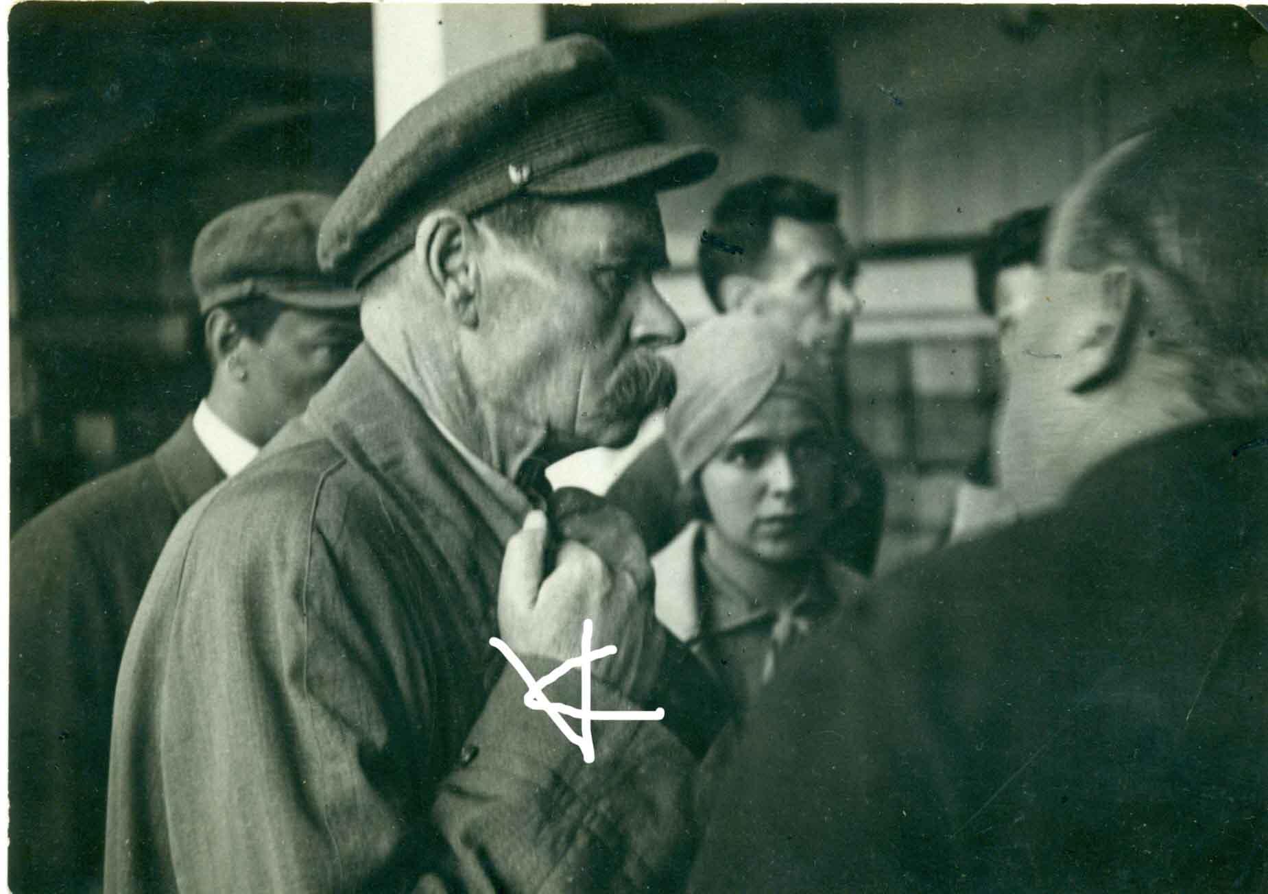 1928. А.М.Горький в Казани