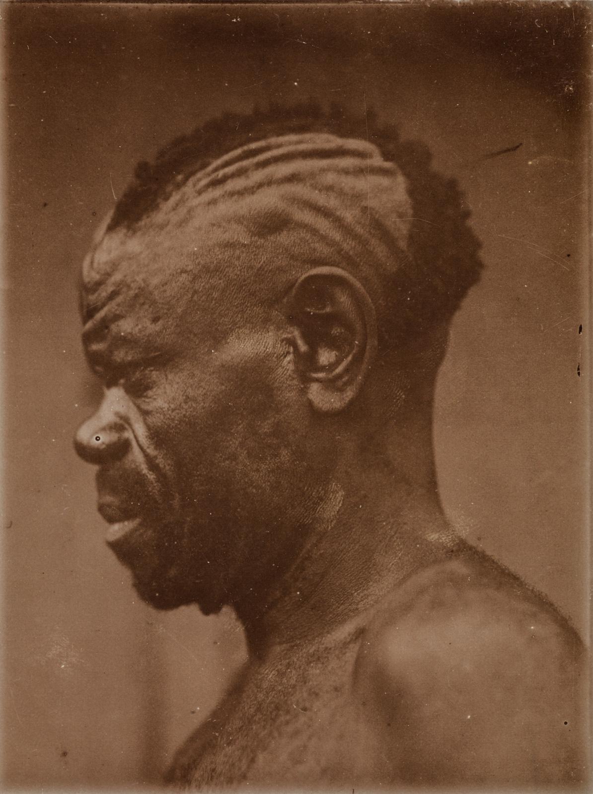Снимок аборигена в профиль