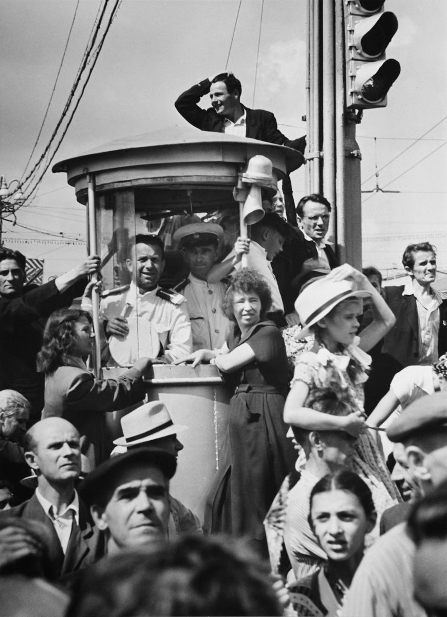 1957. Москва в дни фестиваля
