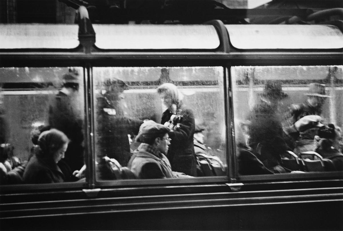1958.  Кондуктор троллейбуса.