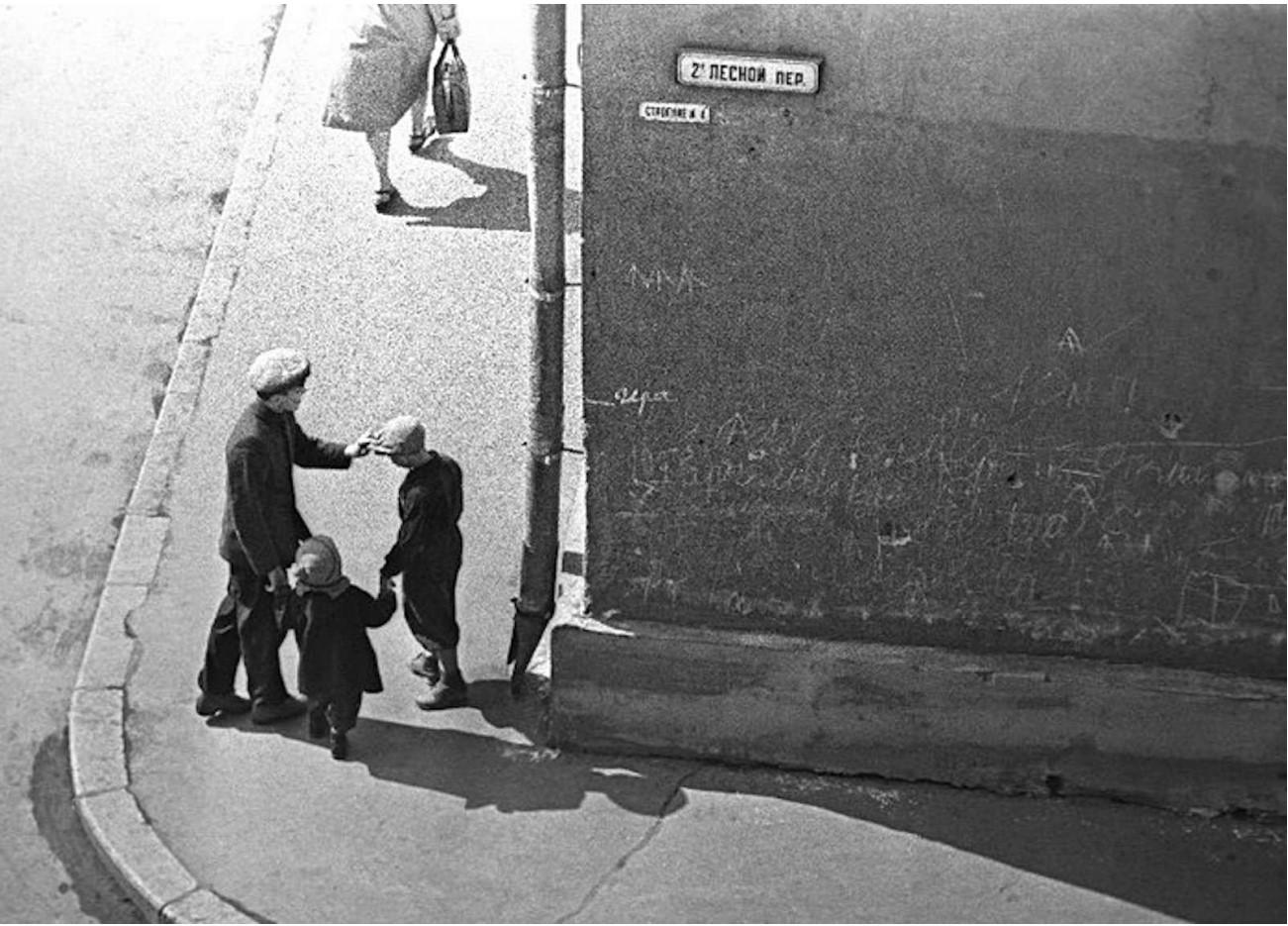 1958. На углу.. 2-й Лесной переулок