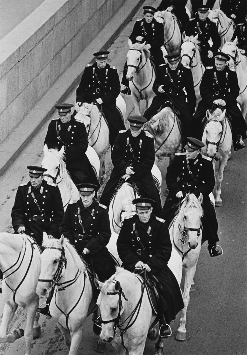 1962. Конная милиция