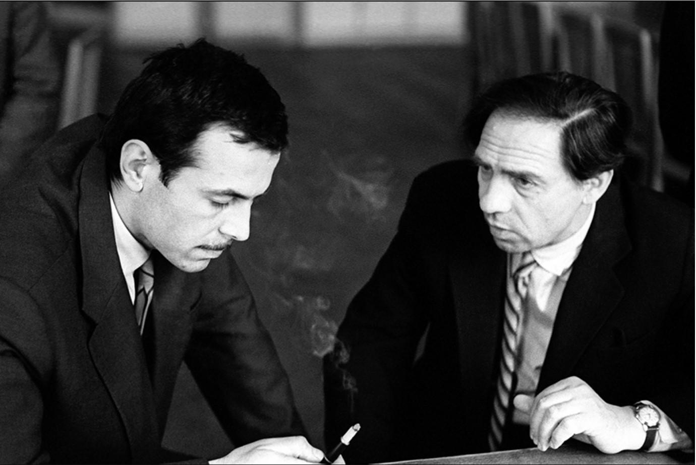 1963. Леонид Лазарев и главный художник журнала «Советская женщина» Кирик Орлов