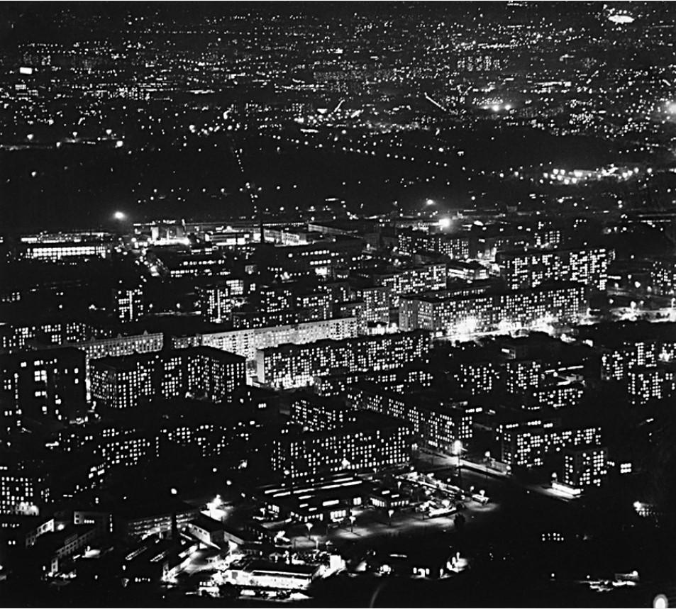 1967. Москва. Огни окон