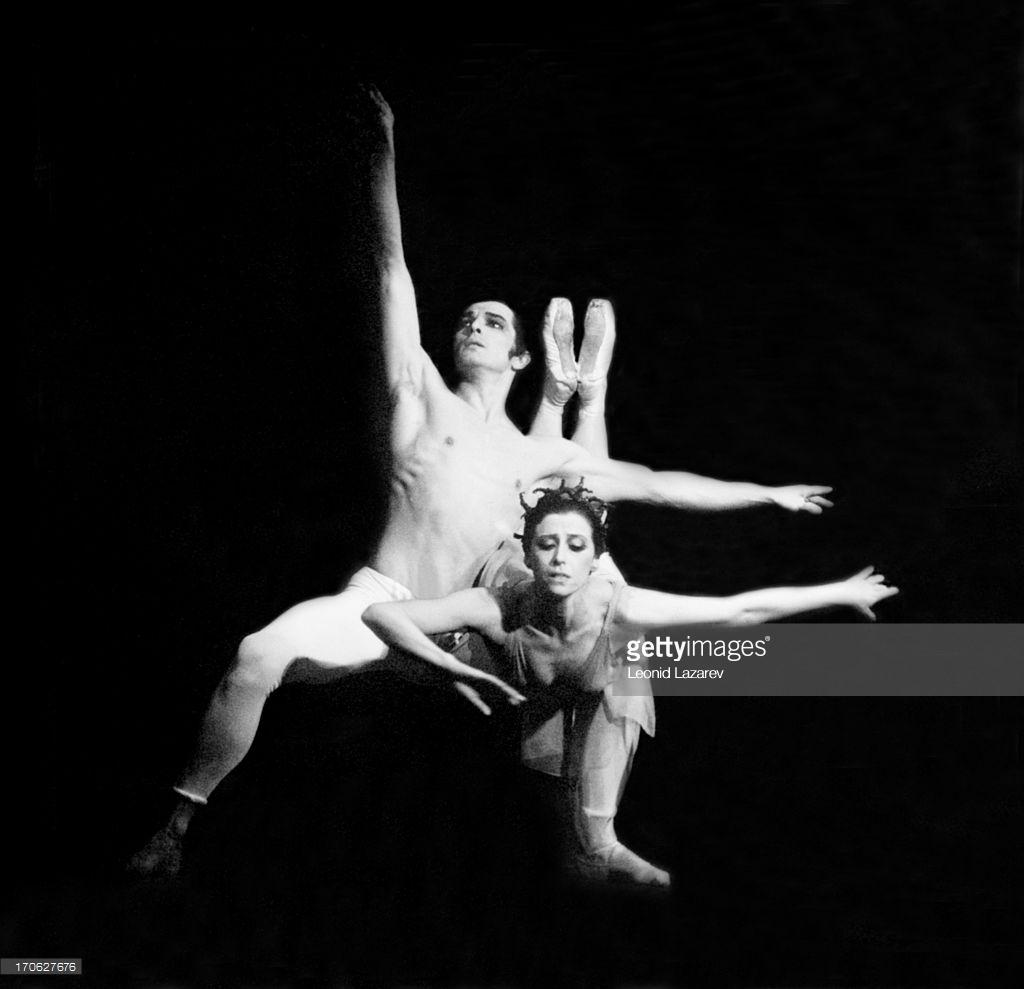 1973. Плисецкая и Руди Брианс
