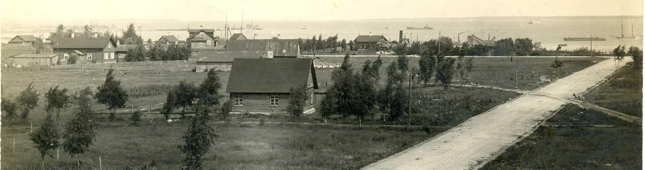 Строительства военного порта в Ревеле. 1914
