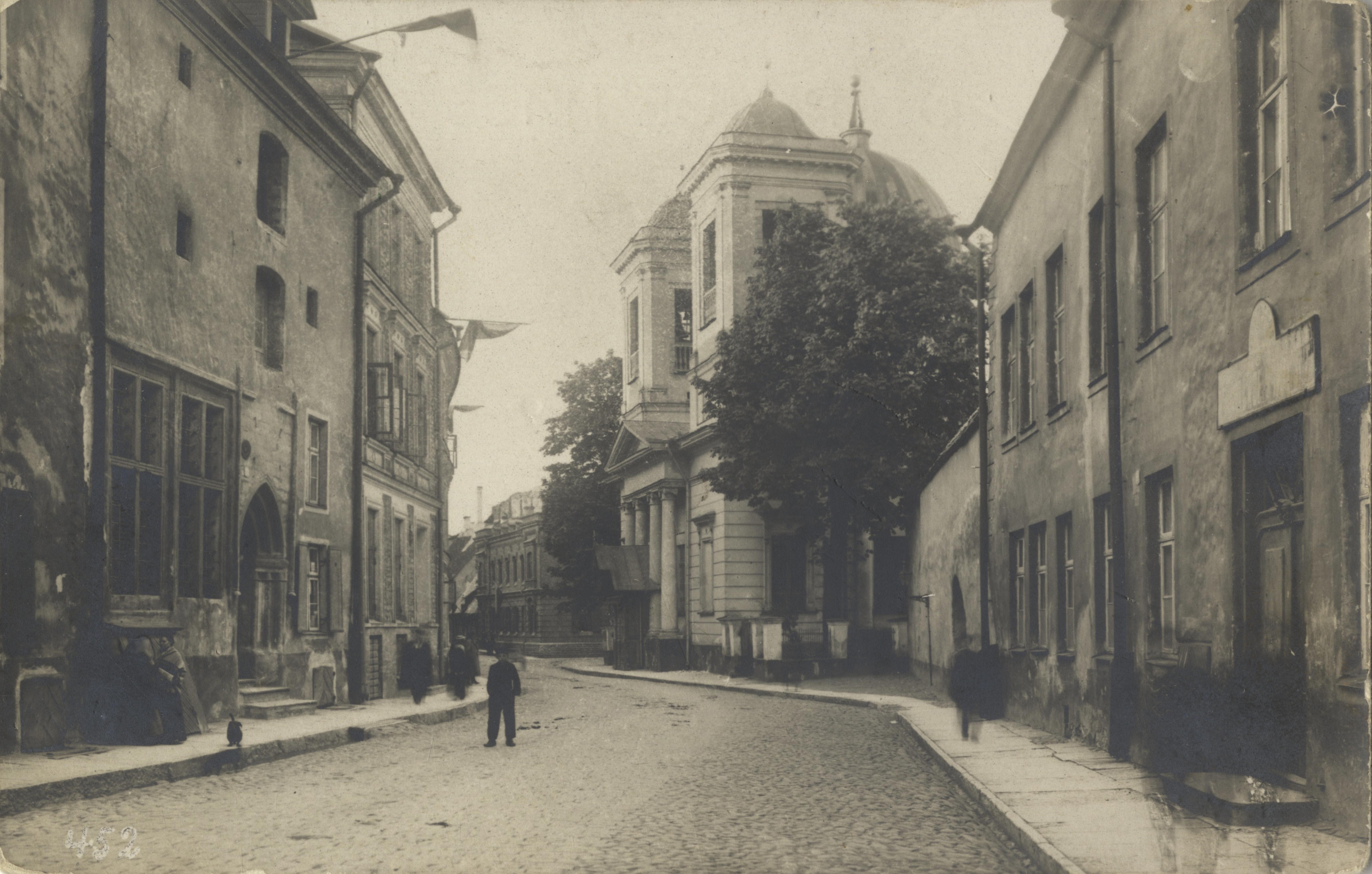 Улица Вене. 1911