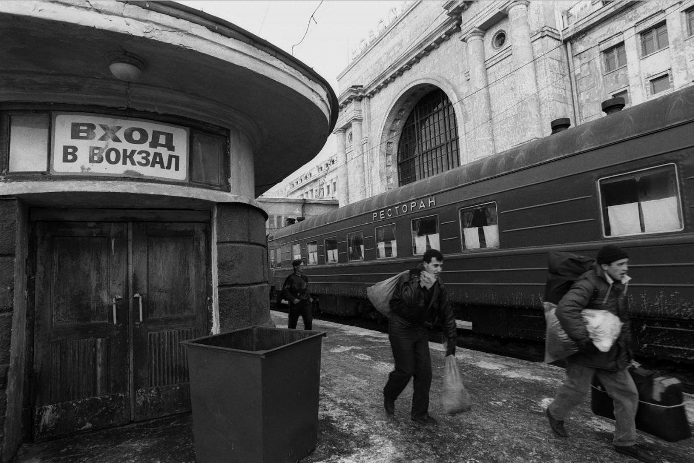Новосибирск. Платформа станции