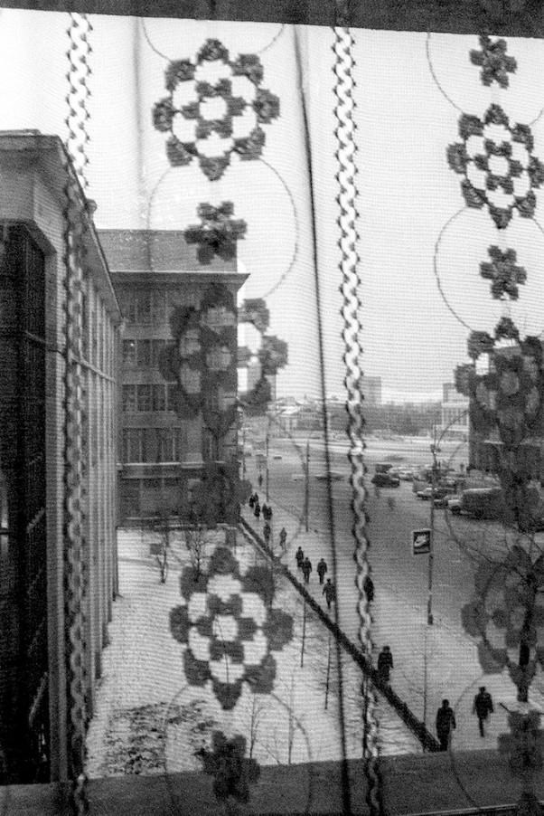 Новосибирск. Вид из окна гостиницы