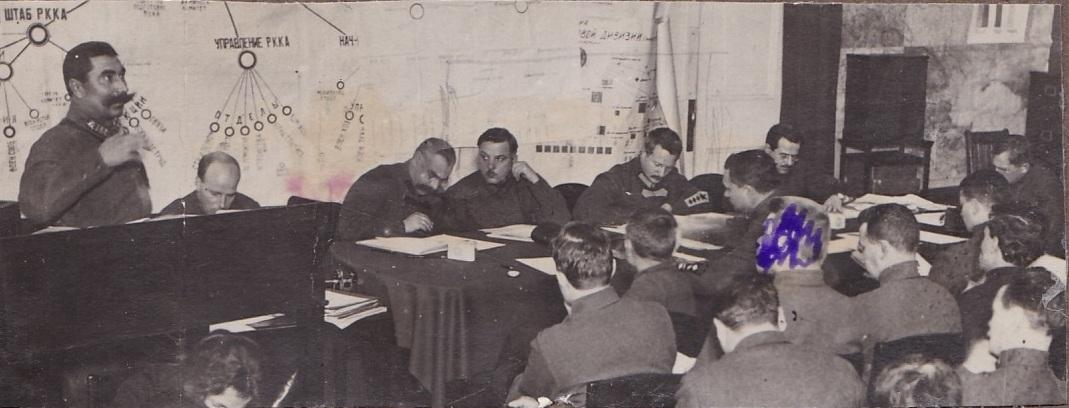 1923. Речь С.М.Будённого на заседании пленума Реввоенсовета