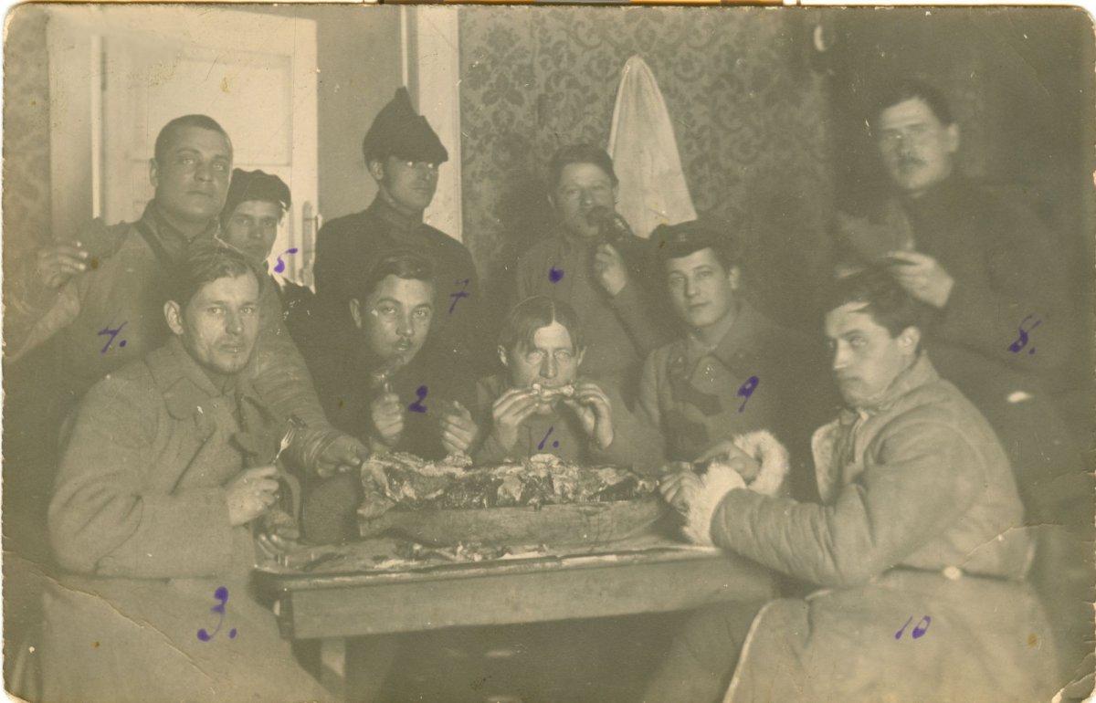 1924. Праздничное угощение