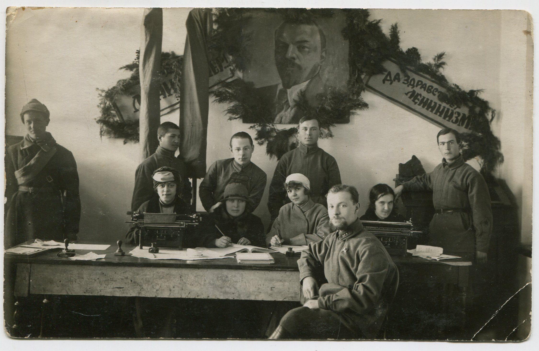 1924. Штаб Крымской кавшколы
