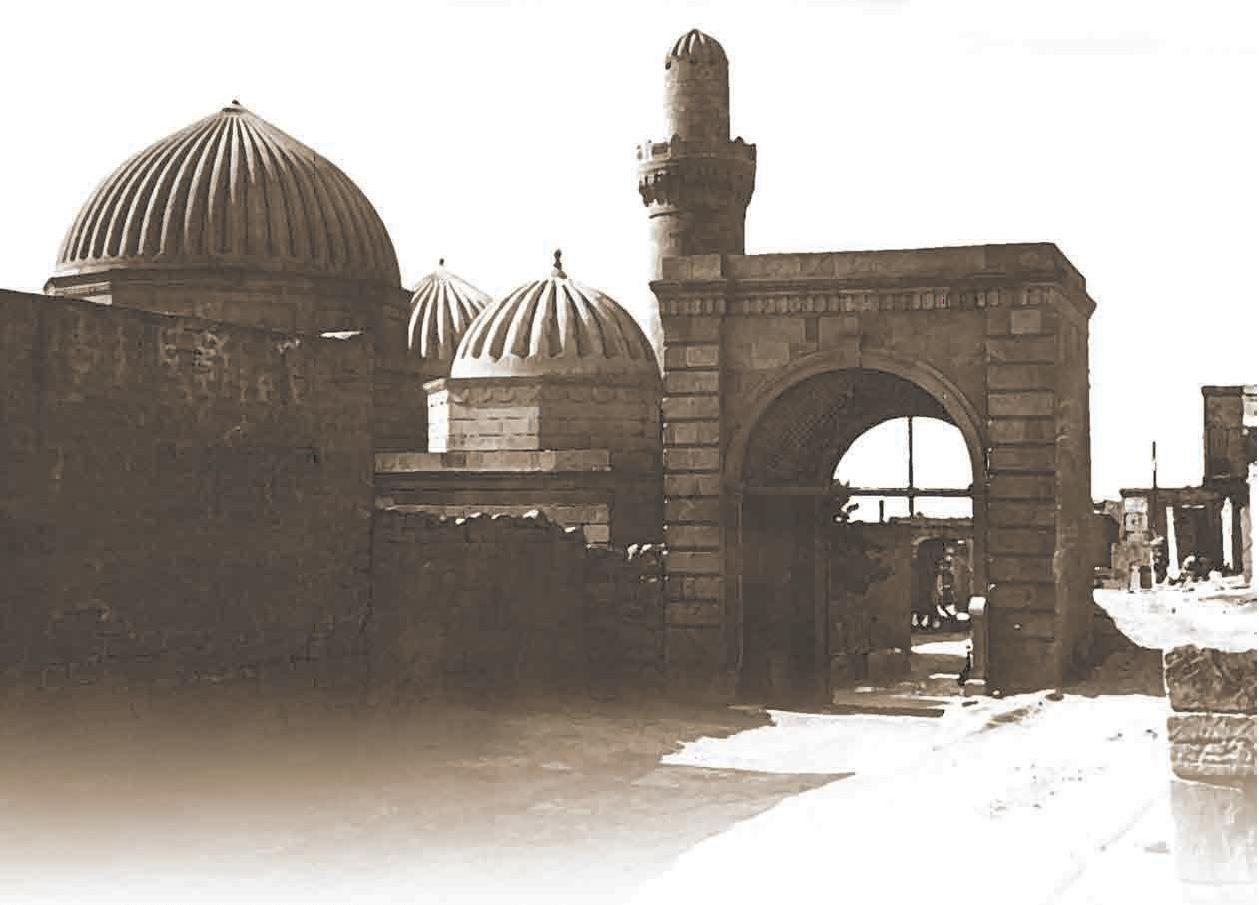 Мечеть Биби-Эйбат после реставрации. 1911