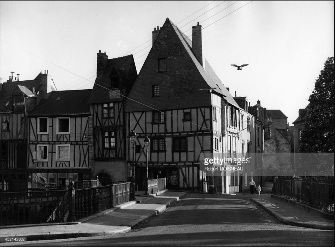 1962. Кафедральный собор в Ле-Мане