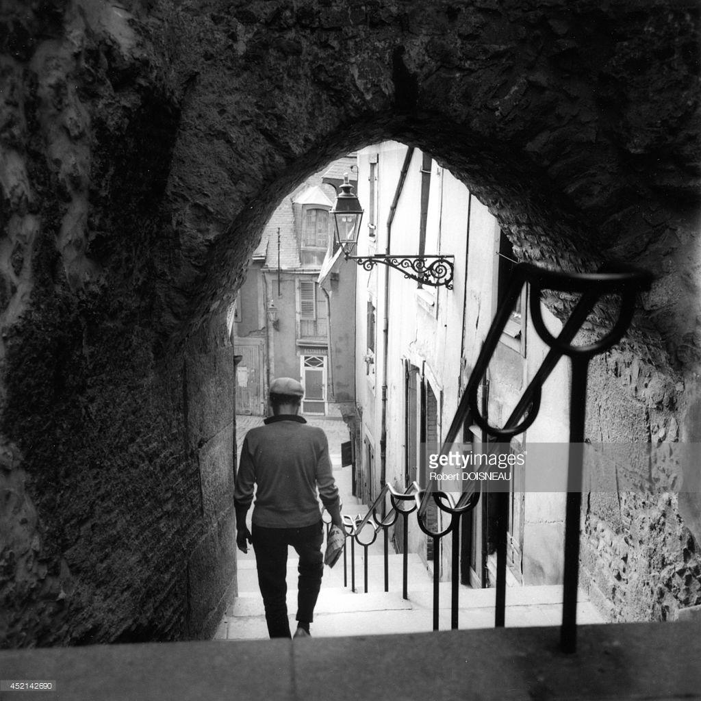 1962. В старом городе. Ле-Ман