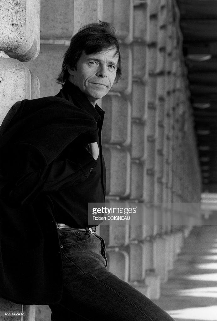 1970-е. Портрет французского певца Пьера Башле в Париже