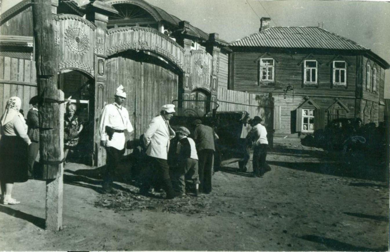 1975. Фото съемок фильма «Не может быть!» в Астрахани