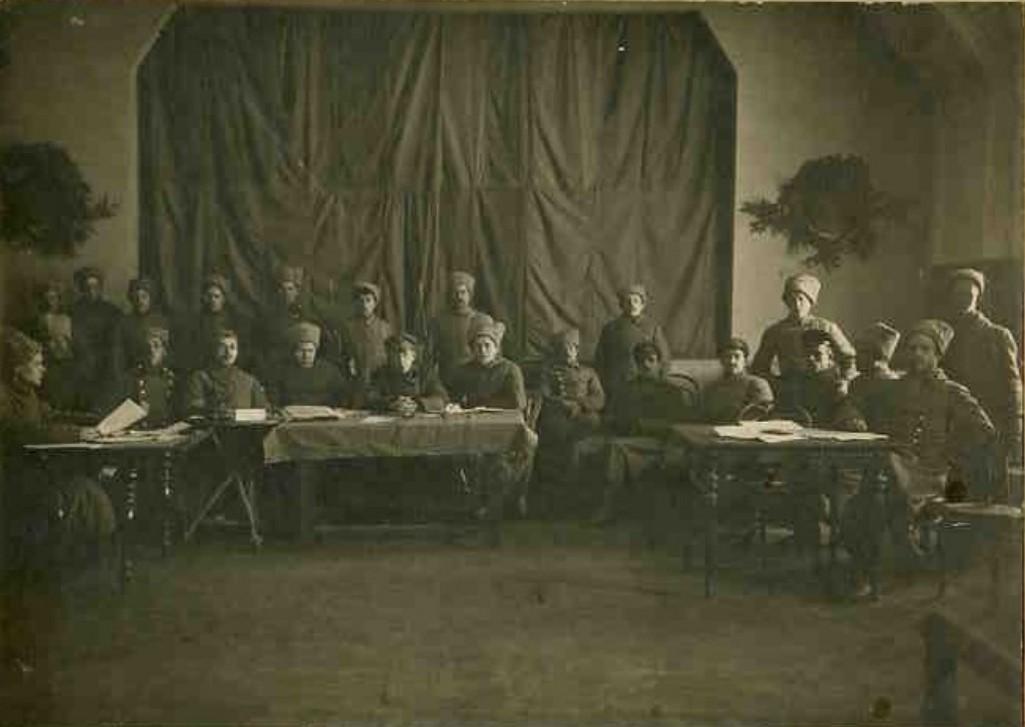 1919. Ревтрибунал инженерного батальона РККА.