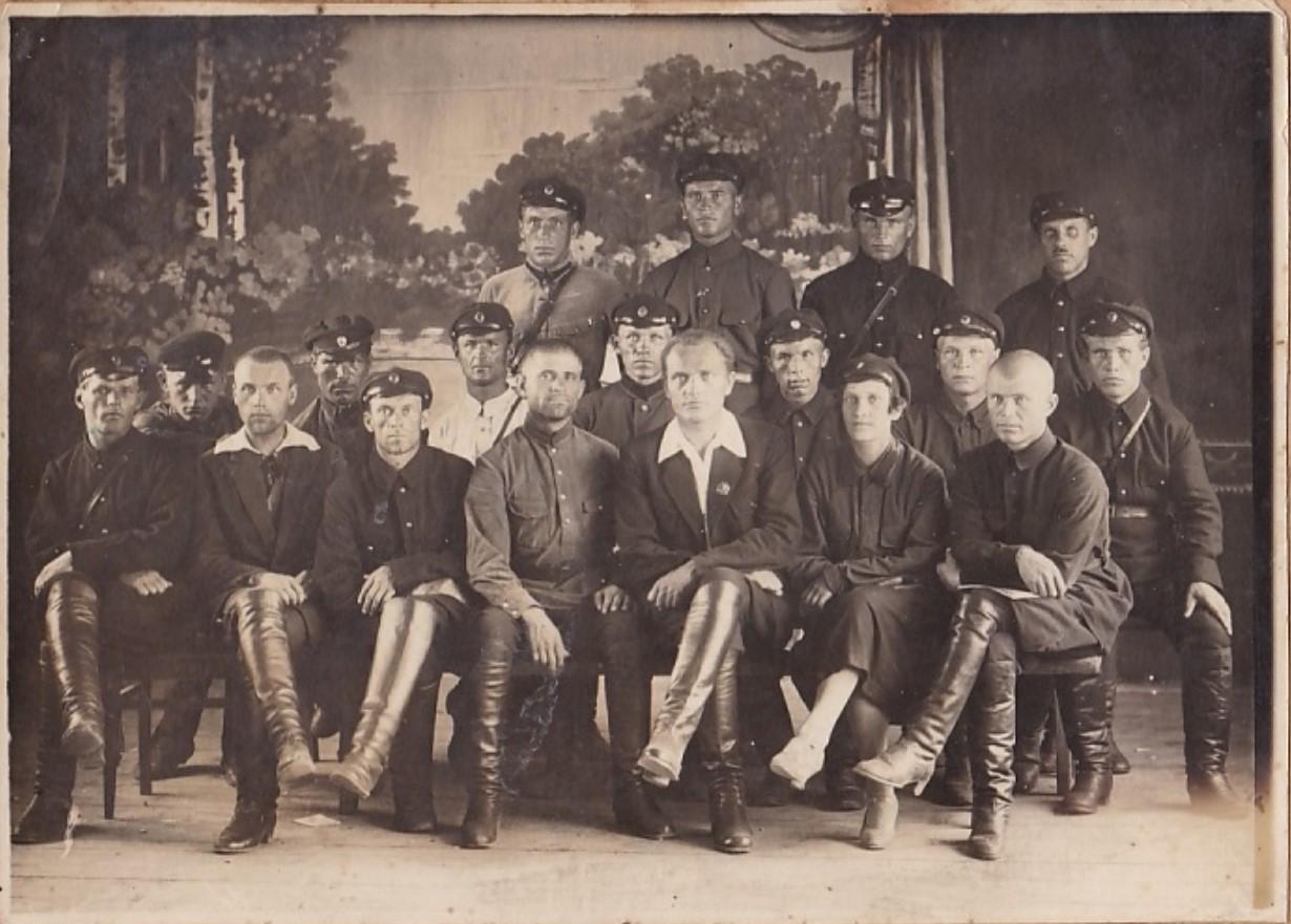 1920-е. Сотрудники милиции города Кунгур